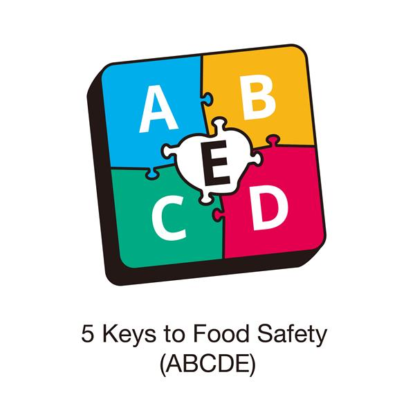 5 Keys to Food Safety (ABCDE)