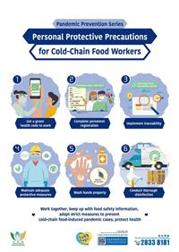 Personal Protective Precautions - For Cold-Chain Food Workers