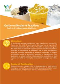 Guide on Hygiene Practices - Ready to drink Beverages and Edible Ice